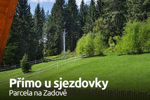 Pozemek na Šumavě, Zadov - Churáňov